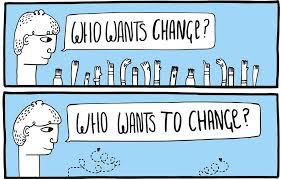 Comunicar el cambio