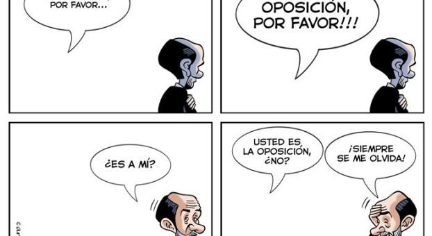 oposición fallida